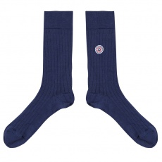 Les Nessy Indigo - Indigoblaue Socken
