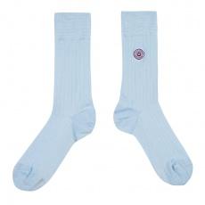Les Nessy Hellblau - Hellblaue Socken