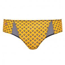 La Zoe Safrangelb - Safrangelbe Unterhose mit Muster