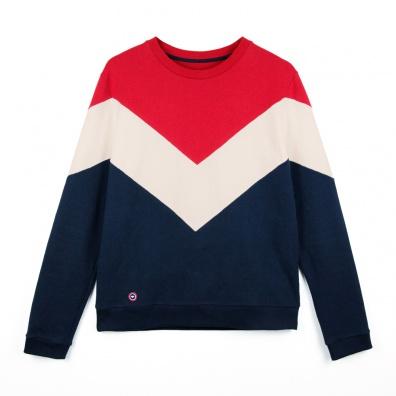 Sweat-shirt Tricolore - Sweat-shirt ESF