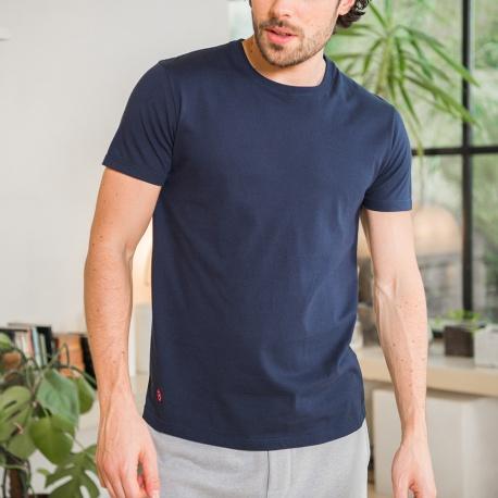 Le James - Blaues T-Shirt