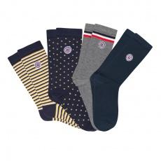 Les Lucas 4er Box - Quatro Box Socken