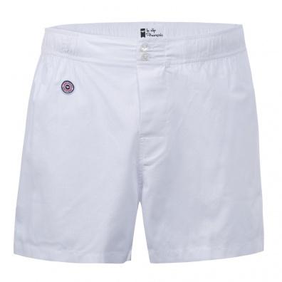Le René - Weiße Boxer Shorts