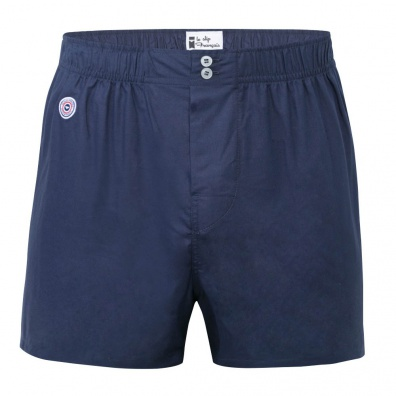 Le Charles - Blaue Boxer Shorts