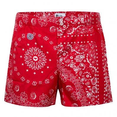 Le Bandana Rouge - Boxershorts mit Bandana-Motiv