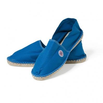 Blaue Espadrilles Klein