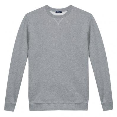 Graumeliertes Sweatshirt