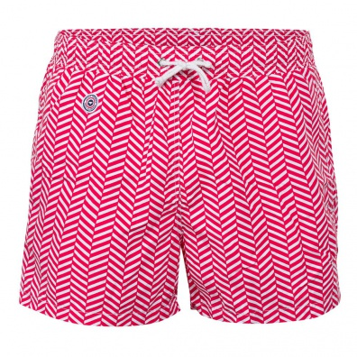 Chevron Rouge - Roter Badehose