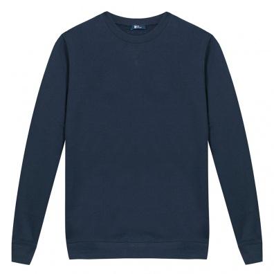 Blaues Frau Sweat-shirt