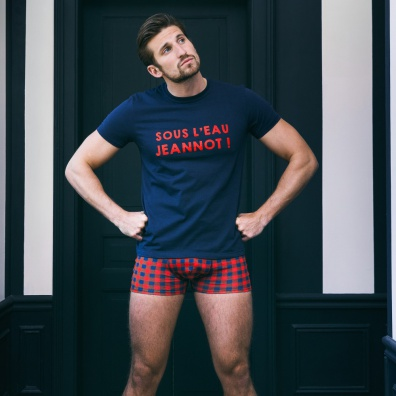 Le Jeannot - Rote LSF x Aigle Trunkshorts