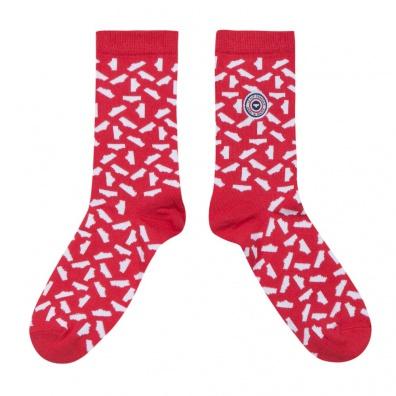 La danse des slips - chaussettes rouge et blanches