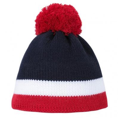 Le Tricolore - Blau-Weiß-Rote Pudelmütze