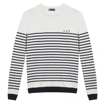 Le Chasse neige - Pull mariniere