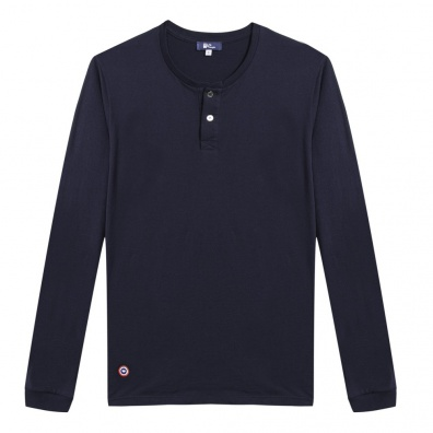Le Chamois - Tshirt manches longues marine