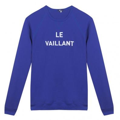 Le Brévent - Blaues Sweatshirt Klein