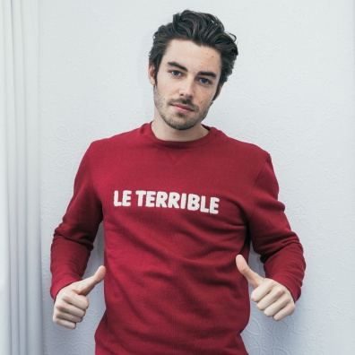 Le Terrible - Burgundy SweatShirt