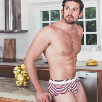 Le Chauvin - Striped brief