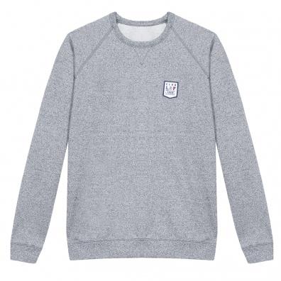 L'ourson - Grau meliertes Sweatshirt
