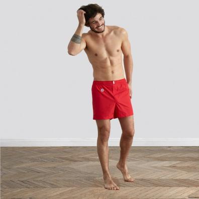 Le Félix - Rote Boxer Shorts