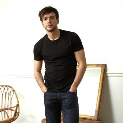 Le Jean - Schwarzes T-Shirt