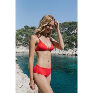 Le Tribord - High raised black bikini bottom