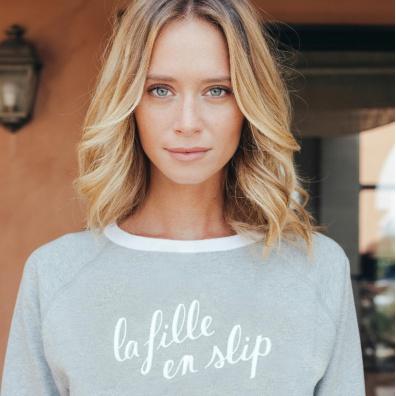 La Sophie - Graues Sweatshirt