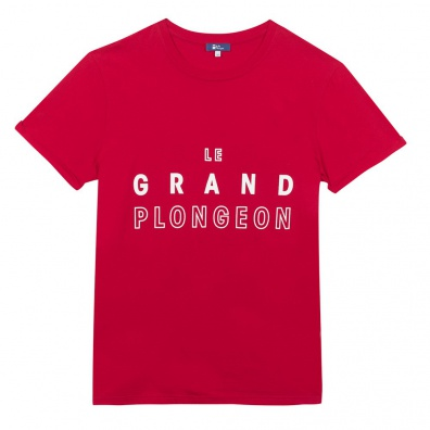 Le Jean F Grand Plongeon - Rotes T-Shirt