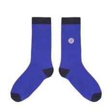 Les Lucas - kobaltblaue Socken