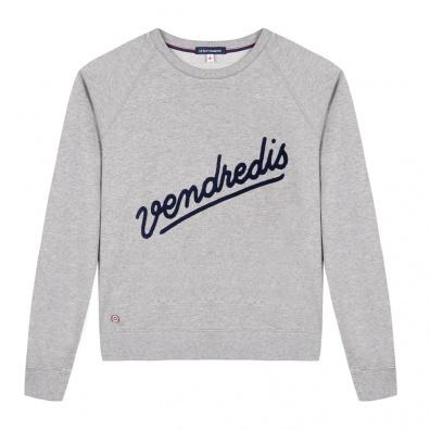 La Sophia Vendredi - Graues Sweatshirt