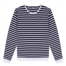 La Marin - Blau-weiß gestreiftes Shirt