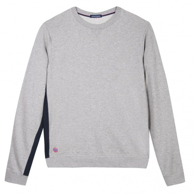 Le Basile - Graues Sweat-shirt