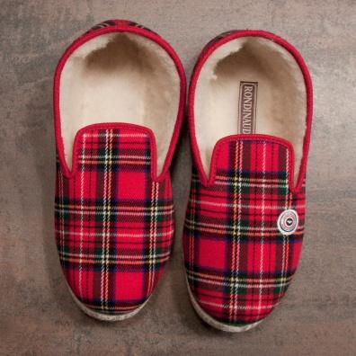 Rote Pantoffeln
